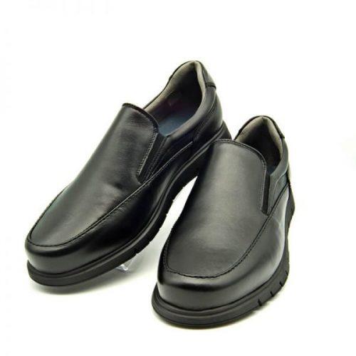 Zapatos flexibles negros TROSSMAN 360 Confort Plus 6